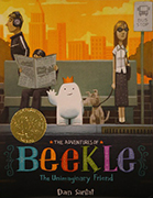 2015 Caldecott Medal - The Adventures of Beekle: The Unimaginary Friend, written and illustrated by Dan Santat